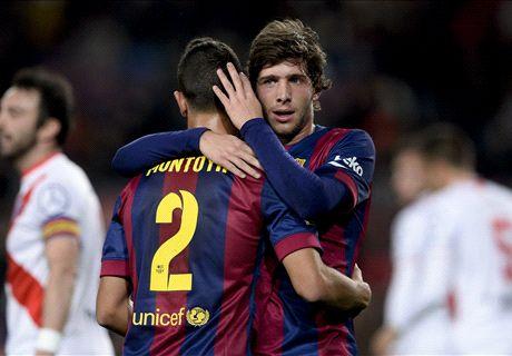 Le Barça s'amuse avec Huesa