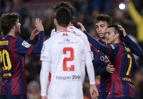 GALERÍA: Barcelona 8-1 Huesca