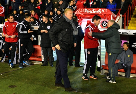 Koeman slams 'disrespectful' Sheff Utd