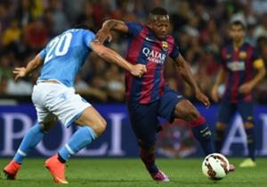 Für Barcas B-Team kommt Traore in dieser Saison in 15 Spielen auf zwei Tore und acht Vorlagen
