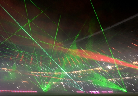 Galerie: Bayerns Lasershow