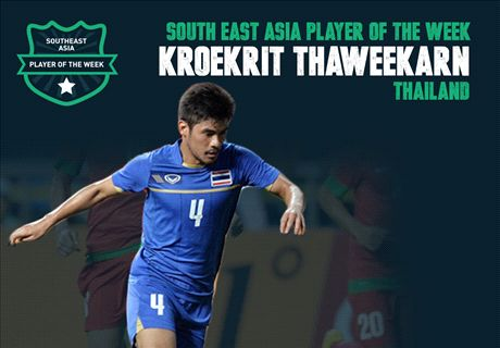 Goal SEA Player of the Week: Kroekrit Thaweekarn