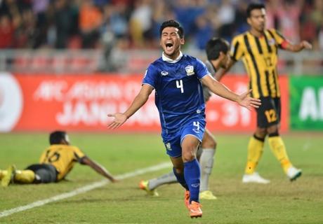 Thailand Tundukkan Malaysia