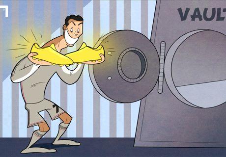 VIÑETA | Cristiano y sus botas de golear