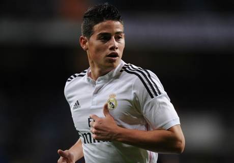 Real Madrid, James s'entraîne avec le groupe