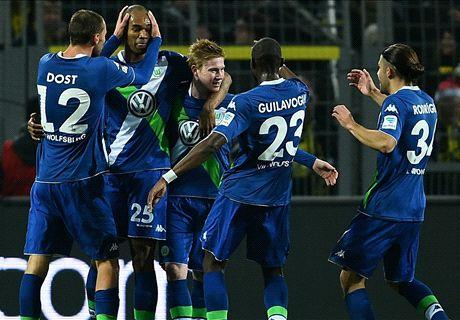 Live: Borussia Dortmund 1-1 Wolfsburg