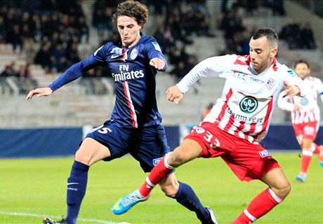 PSG leave it late to see off Ajaccio