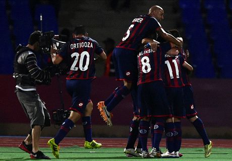 Matos sets up Madrid date for San Lorenzo
