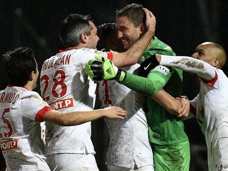 Stekelenburg the hero as monaco reach coupe de la ligue quarter finals - Lyon monaco coupe de la ligue 2014 ...