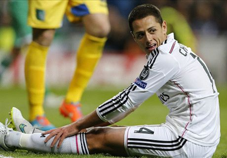 'Chicharito will not leave Real Madrid'