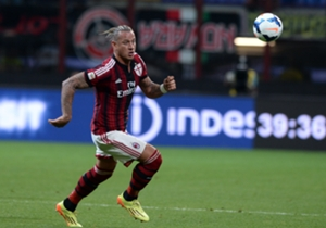 Milan defender Philippe Mexes