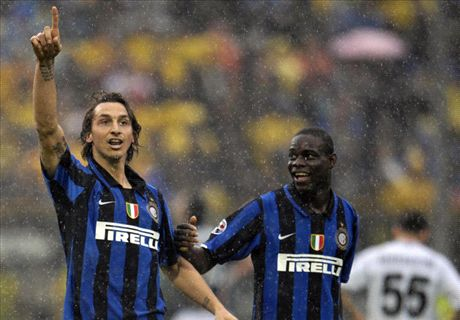Balotelli failing to imitate Ibra - Mancini