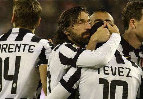 Live: Cagliari 0-2 Juventus