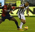 Vidal revitalised by cracker at Cagliari