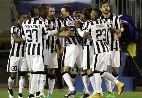 Résumé de match, Cagliari-Juventus (1-3)