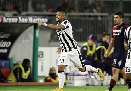 Cagliari 1-3 Juventus: Back on track