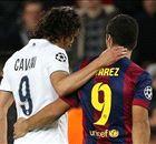 CHAMPIONS | Luis Suárez - Cavani: el derbi uruguayo
