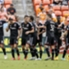 D.C. United celebrates a goal in its 3-1 win at Houston