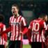 Luuk de Jong mengemas hat-trick pertamanya untuk PSV Eindhoven tengah pekan ini.
