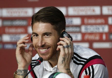 Ramos in fitness race