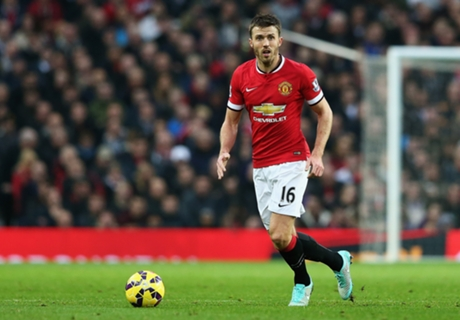 Manchester United, Carrick out quatre semaines