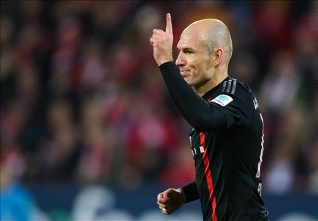 Robben: Fitness problems behind me