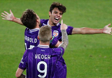 Match report: Glory 4-1 Mariners