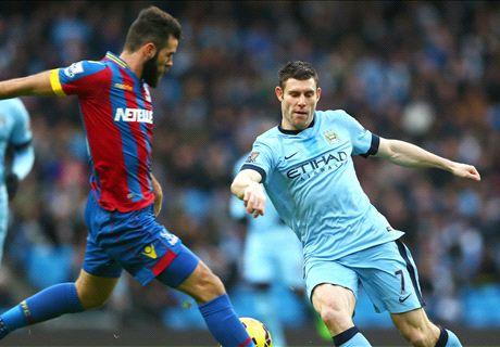 LIVE: Manchester City 1-0 Crystal Palace