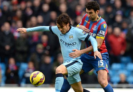 Silva sparkles as City pummel Palace