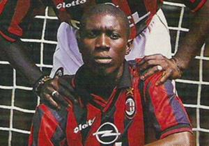 ZIZI ROBERTS - L'amico di Weah approda nell'estate del 1997 al Milan su consiglio dello stesso George, che disse di lui: