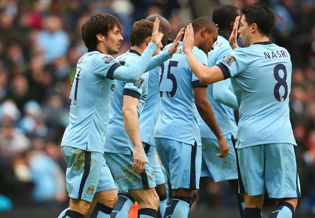 Manchester City 3-0 Crystal Palace: Silva & Toure see off stubborn Eagles
