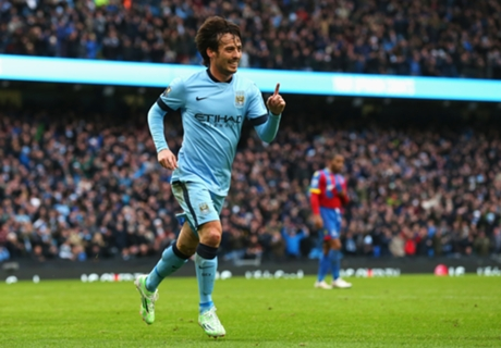 Man City 3-0 Palace: Tied at top