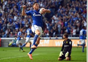 Schalke striker Klaas-Jan Huntelaar