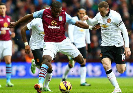Ten-man Villa hold mediocre Man Utd