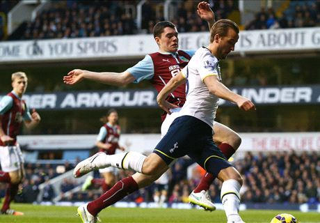 Live: Tottenham 0-0 Burnley