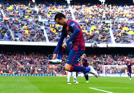 Luis Enrique: It's hard to stop Pedro