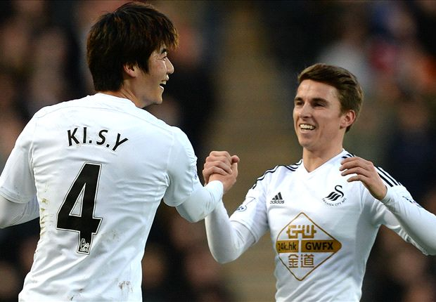 Hull City 0-1 Swansea City: Deflected effort seals low-key clash