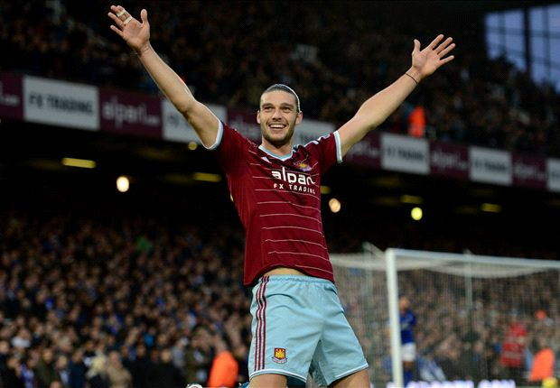 West Ham 2-0 Leicester City: Carroll & Downing strike for in-form Hammers