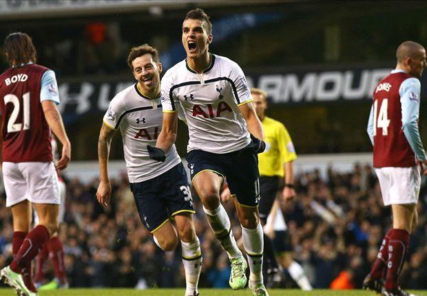 Tottenham 2-1 Burnley: Lamela stunner seals win as Kane strikes again