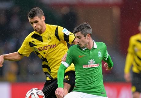 W. Bremen 2-1 Dortmund: Woes continue