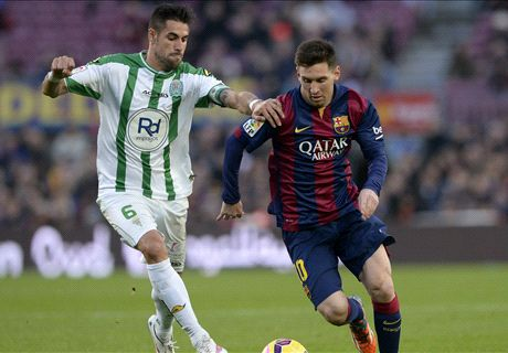Messi double helps Barca crush Cordoba