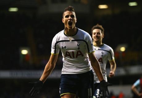 Tottenham 2-1 Burnley: Lamela stunner