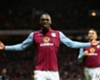 Aston Villa 1-1 Manchester United: Visitors held despite Agbonlahor dismissal