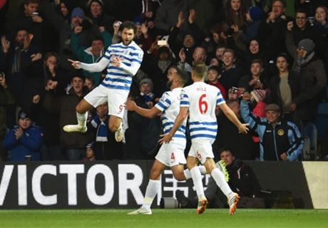 QPR 3-2 West Brom: Austin hat trick