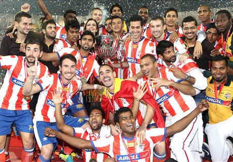 Atletico de Kolkata are ISL's first champions