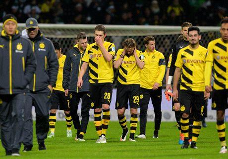 Dortmund beaten by rock-bottom Werder