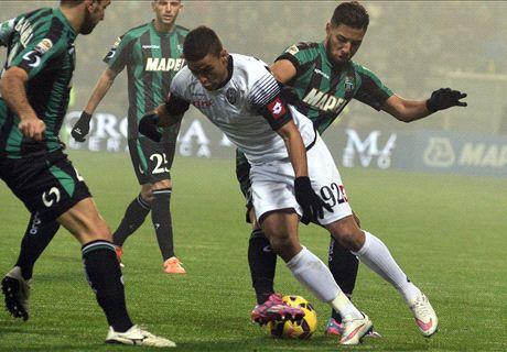Sassuolo-Cesena LIVE! 0-0, Leali lavora