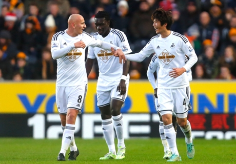 Hull City 0-1 Swansea: Rare away win