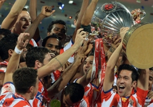 Kerala Blasters 0-1 Atletico de Kolkata | Mohd. Rafique's winner deep into stoppage time handed Luis Garcia & Co. the inaugural ISL trophy after having withstood a Kerala Blasters onslaught for majority of the game