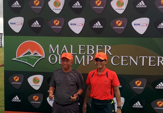 Arifin Panigoro mendirikan sport centre terbesar di Indonesia.